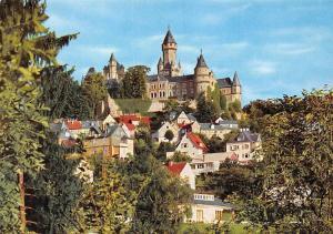 Schloss und Burg Braunfels an der Lahn Castle Panorama Chateau