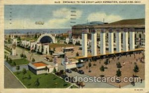 Cleveland, Ohio,USA Great Lakes Exposition, 1936 1936 light corner wear, post...