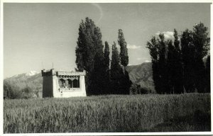 india, LEH, Himalaya, Unknown Tibetan Buddhism Shrine (1940s) Real Photo