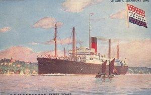 Atlantic Transport Line Ocean Liner S.S. MINNEKAHDA , 00-10s