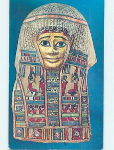 1964 Postcard - Egyptian Mummy Mask Egypt p9262