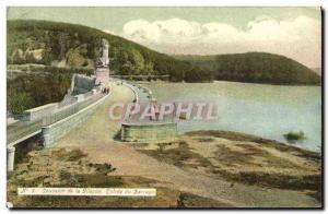 Old Postcard Remembrance Gileppe Dam Lion Entree