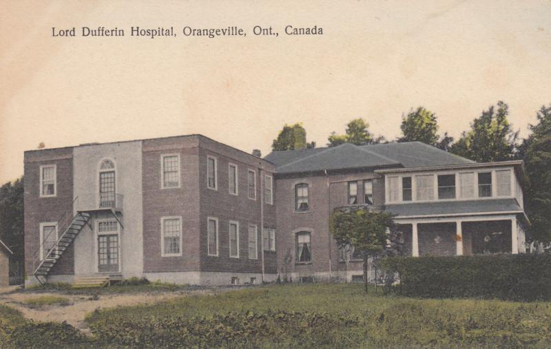 ORANGEVILLE , Canada, 00-10s; Lord Dufferin Hospital