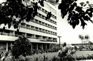 indonesia, JAVA YOGYAKARTA DJOKJA, Ambarukmo Palace Hotel (1950s) RPPC Postcard