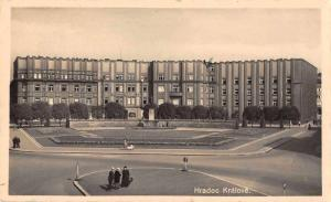 Hradec Kralove Czech Republic Building Exterior Real Photo Postcard J66644