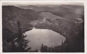 RP; Feldberg (Schwarzwald) 1500 m. u. M. Blick auf den Feldsee, Black Forest,...
