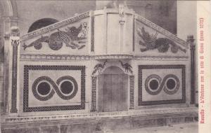 L'Ambone Con La Vita Di Giona (Anno 1272), RAVELLO (Campania), Italy, 1900-1910s