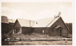 RP: WHITEHORSE, Yukon Territory, Canada, 1900-10s; The Old Log Church (2)