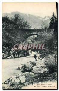 Old Postcard Valley of Gifire Mieussy Le Pont du Diable