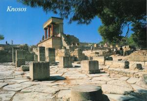 Greece Postcard Knosos Crete L36