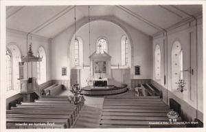 RP: Interior av kyrkan , ARYD , Sweden , 30-40s