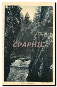 Old Postcard Gorges of the Diosaz