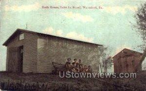 Bath House, Lake Le Bouef - Waterfront, Pennsylvania