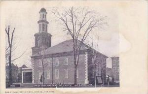 Virginia Alexandria Christ Church Washington Church
