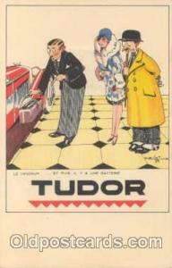 Tudor Advertising Postcard Post Card  Tudor
