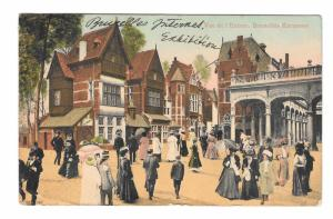Official Brussels Intrnational Exposition 1910 Postcard Bruxelles Kermesse