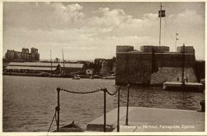 cyprus, FAMAGUSTA, Entrance to Harbour (1930s)