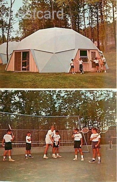 PA, Waynesboro, Pennsylvania, Camp Comet For Boys, Multi View, Tennis,Dome Bu...