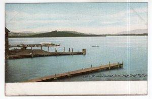 Lake Winnepesaukee, N.H., from Depot Platform