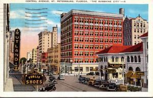Florida St Petersburg Central Avenue 1941