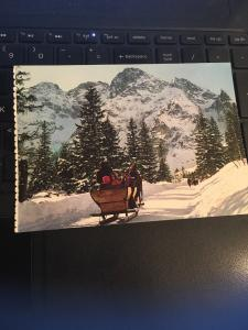 Vintage Postcard: Tatry Wysokie, Mountains, Polish Slovak Borders