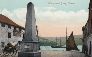 FOWEY , Cornwall, England, UK ; 00-10s ; Monument Quay