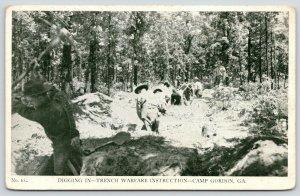 Augusta Georgia~Fort Gordon~WWII Prisoner of War Internment Camp~Trench Warfare