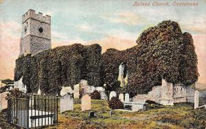 Ruined Church Cemetery Eglise Overstrand