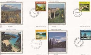 Four Seasons Spring Summer Autumn Winter Benham New Zealand FDC