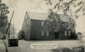 CT - South Lyme. Thomas Lee House