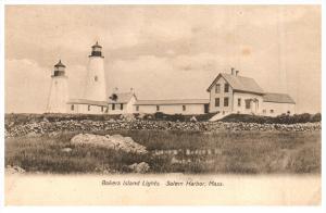 17209   MA  Salem  Baker's Island Lights