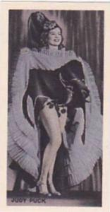 Phillips Vintage Cigarette Card Beauties Of To-Day 1938 No 47 Judy Puck