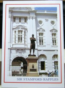 Singapore Sir Stamford Raffles Victorial Memorial Hall - unposted