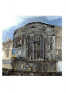 Art Postcard, Rex (1995) - Urban Living by Jock Mcfadyen BD4