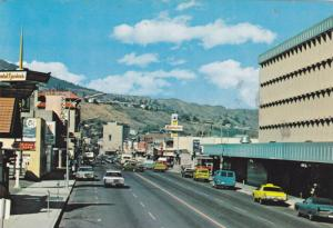 Double sided street views of the fast growing city of Kamloops,  B.C.,   Cana...