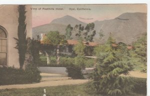 OJAI , California, 1929 ; Foothills Hotel