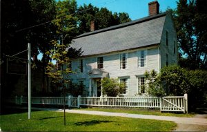 Connecticut Wethersfield Webb House Built 1752 By Joseph Webb