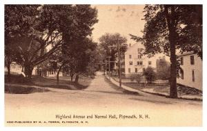 New Hampshire Plymouth , Highland Ave. and Normal Hall
