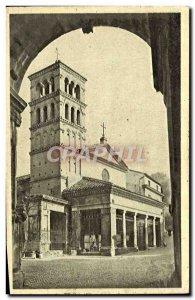 Old Postcard Roma S Giorgio in Velabro