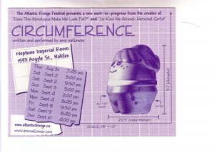 Performance Advertising, Circumference, Halifax Nova Scotia, Atlantic Fringe ...