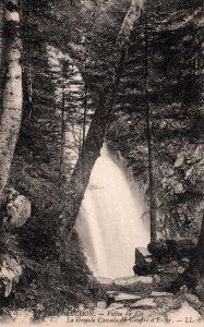 Le Grande Cascade,Vallee du Lys,Luchon,France BIN