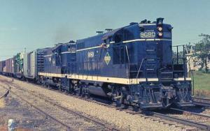 Railroads, Train - Illinois Central #9080   railroadcards.com