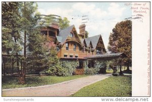 Home Of Mark Twain Hartford Connecticut 1907