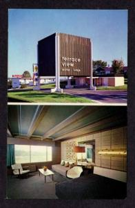 TN Terrace View Motel Lodge KNOXVILLE TENNESSEE TENN PC