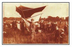 Nostalgia Postcard 1908 Brogden's Dihedral Kite Reproduction Card NS24