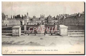 Old Postcard Fontainebleau Palace Of The Court of Farewells