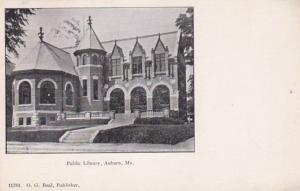 Maine Auburn Public Library 1905