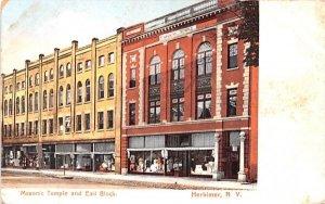 Masonic Temple & Earl Block Herkimer, New York