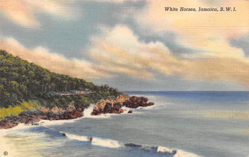 B.W.I. Jamaica White Horses, 15 miles Kingston, St. Thomas in East