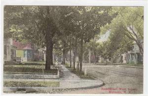 Main Street Residences Mohawk New York 1914 postcard